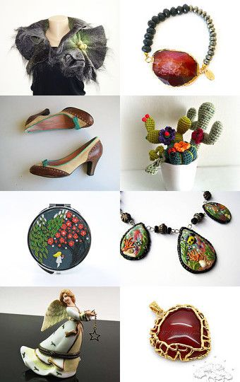 Mix of Colors by ILONA on Etsy--Pinned with TreasuryPin.com