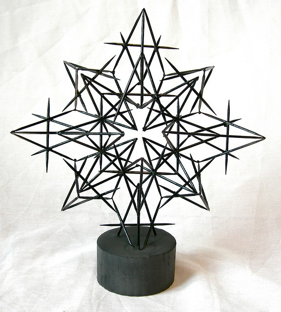 Use 100 toothpicks to create a free-standing sculpture yr 9-11... we do this, but I like the 100 limit/expectation. Plus, would be great for 1oo day.