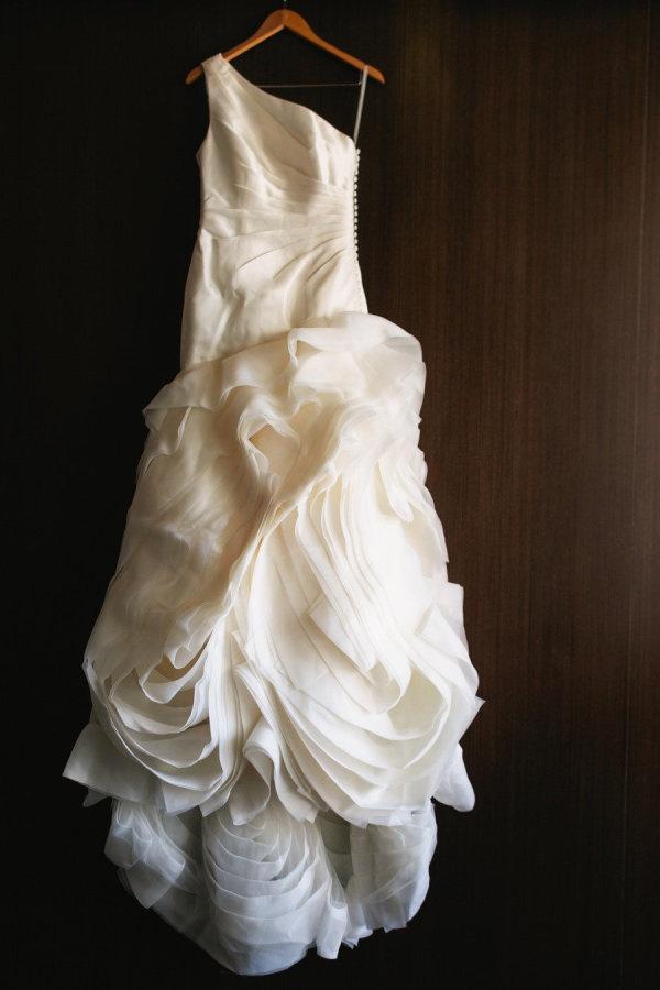 We heart ruffles. Photography by carolinemccredie.com.au, Wedding Dress by White by Vera Wang via davidsbridal.com