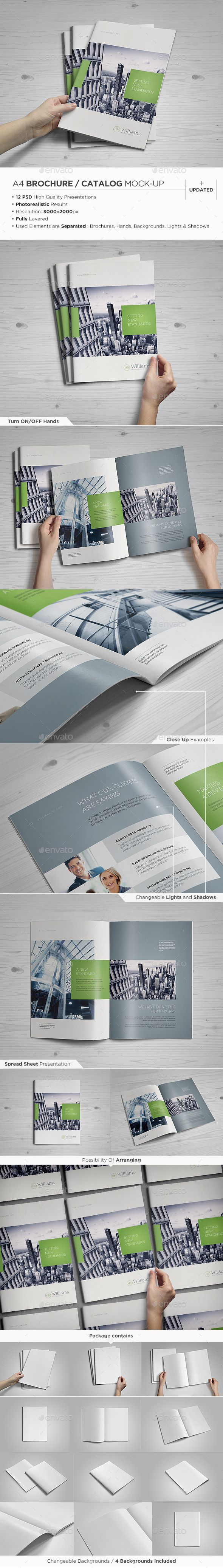 A4 Brochure / Catalog Mock-Up - Brochures Print https://graphicriver.net/item/a4-brochure-catalog-mockup/4236480?ref=231267