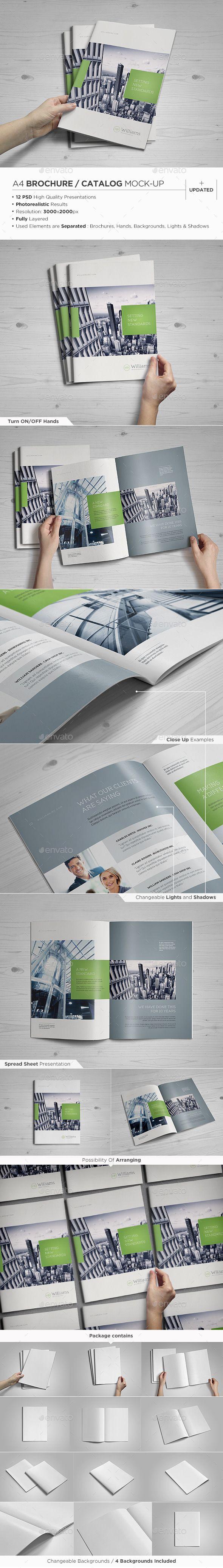 A4 Brochure / Catalog Mock-Up - Brochures Print https://graphicriver.net/item/a4-brochure-catalog-mockup/4236480?ref=231267