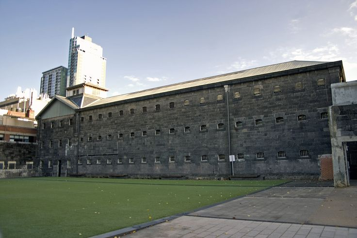 Old Melbourne gaol - exterior