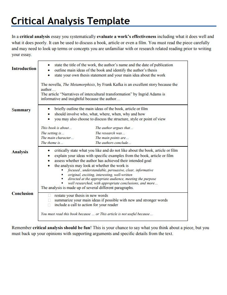 Complete Analytical Essay Writing Guide Topic Tip Skill Academic Example Of A Thesi Statement For Critical Analysi Paper