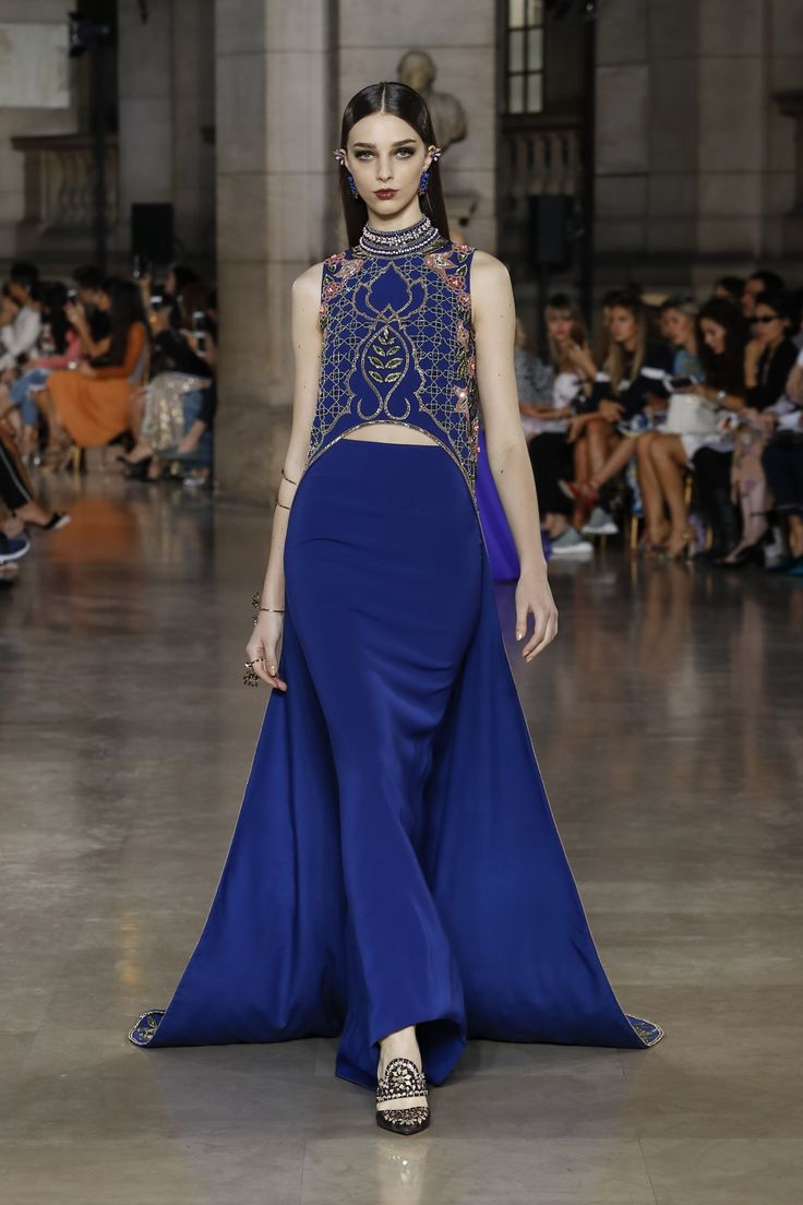 Georges Hobeika | Haute Couture Fall-Winter 2017-18 | Look 16
