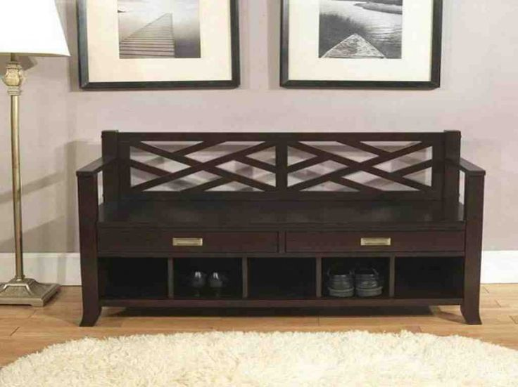 Southport Shoe Storage Bench With Cushion