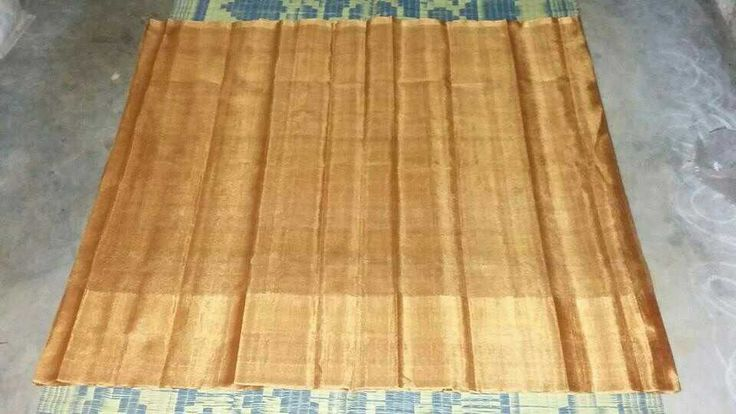 Jari by jari weaving saree,  not smooth,  no washable