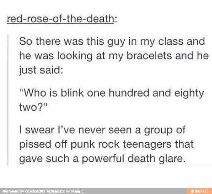"Blink182 there is no ""hundred and"" none zip and really even my mother knows how to say it"