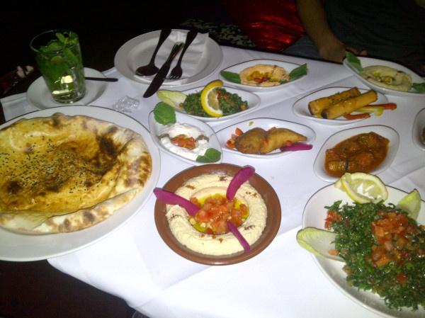 Arabic Mezze, Maroosh Restaurant #Berlin #Germany