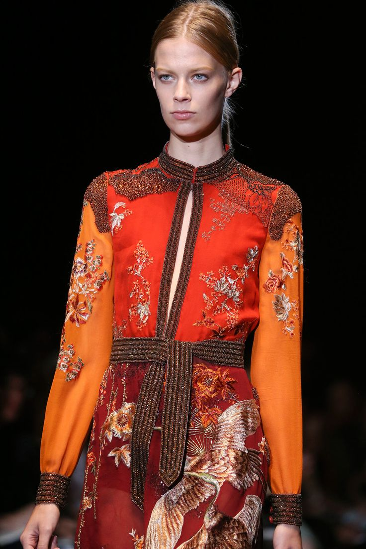 It's a Wrap: Designers Endorse the Obi for Spring - Gallery - Style.com Gucci Spring 2015