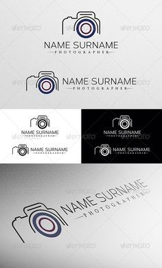 Photographer  - Logo Design Template Vector #logotype Download it here: http://graphicriver.net/item/photographer-logo/4797484?s_rank=483?ref=nexion