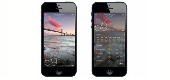 yahoo météo Yahoo! impressionne encore avec sa nouvelle application météo pour iPhone & Mail pour tablettes