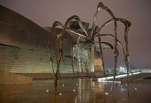 Louise Bourgeois is probably on the top 10 of female artists