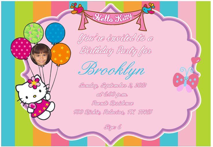 free birthday invitation templates hello kitty places to visit