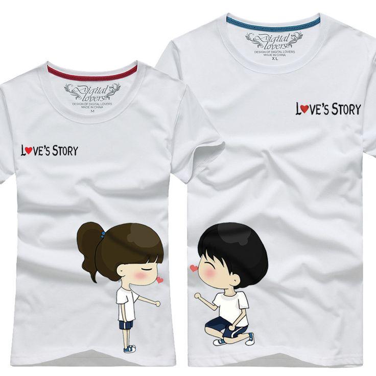camisetas para parejas - Buscar con Google                                                                                                                                                                                 Más