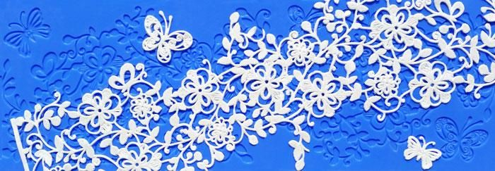 Crystal Candy Gold Lace Mat - Midnight Garden Crystal Candy Cake Australia…