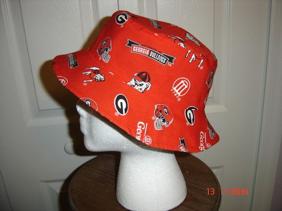 Bulldogs Game Day Team Bucket Hat by allthatjazzdesigns on Etsy