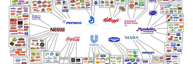 10 Snack Brands control everything