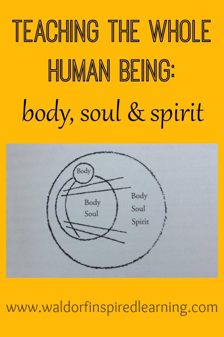 A Psychology Of Body Soul Spirit Rudolf Steiner