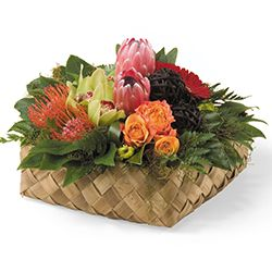 Birthday flowers and gifts: 'Pacific Basket'