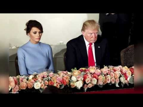 Melania Trump Looks Sad At Trump's Inauguration, Is Donald Trump Marriag...
