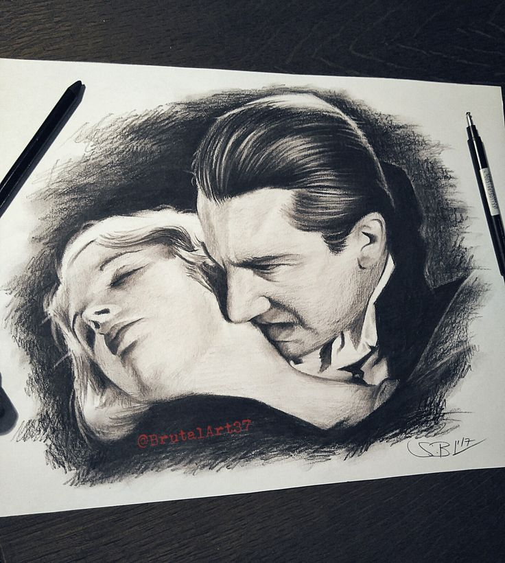 Bela Lugosi Drawing....(Dracula)