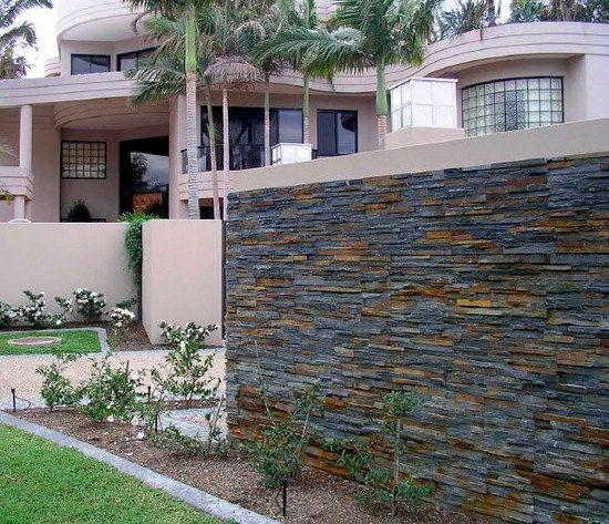 17 mejores ideas sobre revestimiento de piedra en - Piedra para muros exteriores ...