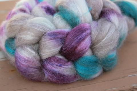 Spin Me BFL/Silk Braid – FireFlyFibreArts
