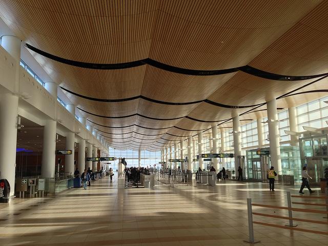 Winnipeg James Armstrong Richardson International Airport, Manitoba. Photo by dpelagio, via Flickr