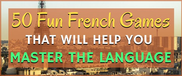 how to speak french games