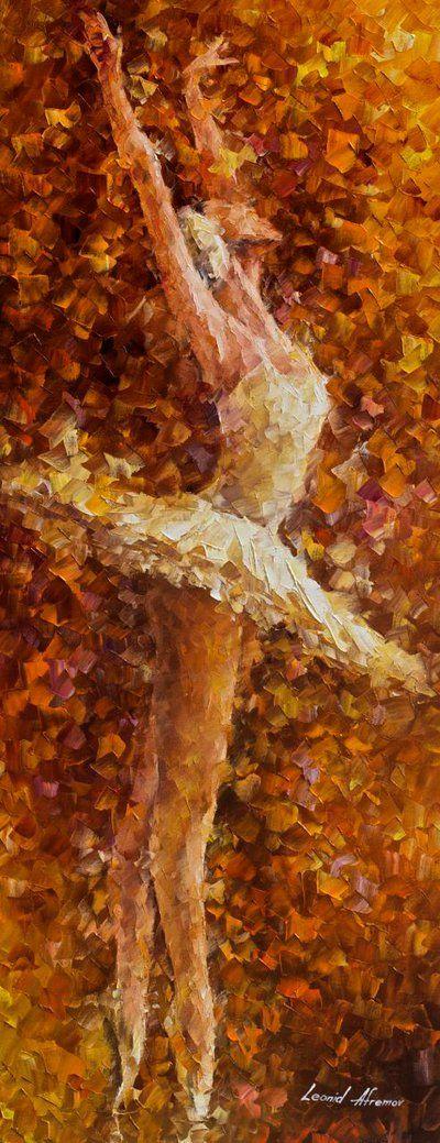 BALLET OF THE SOUL by Leonid Afremov by Leonidafremov