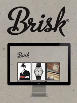 Brisk is a male high fashion catalogue, without the price >> Brisk Fashion --> www.bebrisk.co.uk