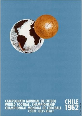 World Cup 1962 Chile Official Poster