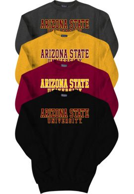 Product: Arizona State University Crewneck Sweatshirt