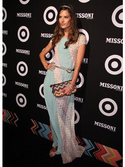 Alessandra Ambrosio + Missoni for Target