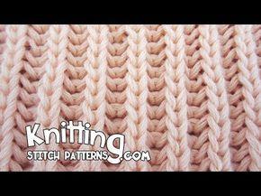 Brioche stitch | Two identical sides - http://www.knittingstory.eu/brioche-stitch-two-identical-sides/