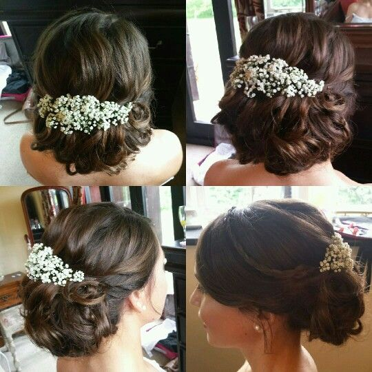 Classic romantic updo. Bridal Hair By Laura Hughes in Norwich. www.laurahugheshair.co.uk