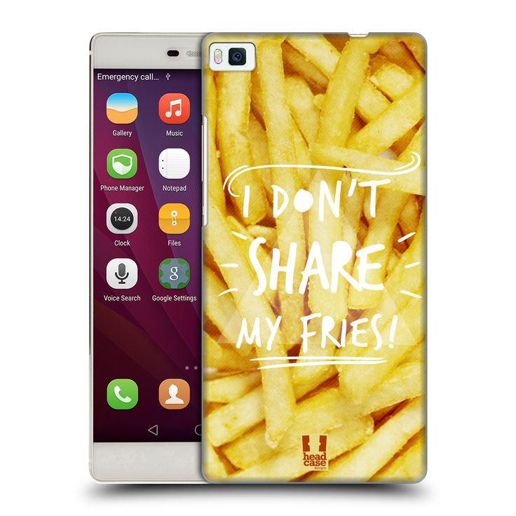 HEAD-CASE-DESIGNS-FOODIE-THOUGHTS-HARD-BACK-CASE-FOR-HUAWEI-PHONES-1