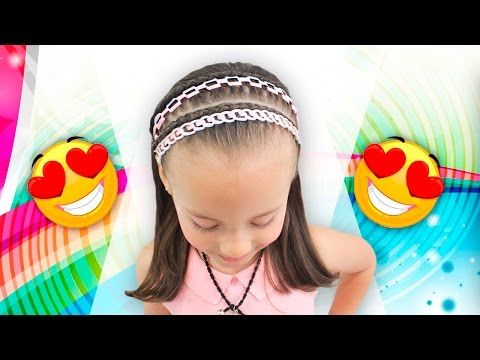 Trenza doble pasacinta en cinta ✅ BRAID WITH RIBBON - YouTube