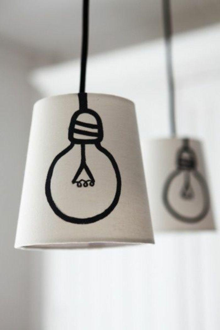 ber ideen zu lampen selber machen auf pinterest diy lampe lampenschirme und. Black Bedroom Furniture Sets. Home Design Ideas