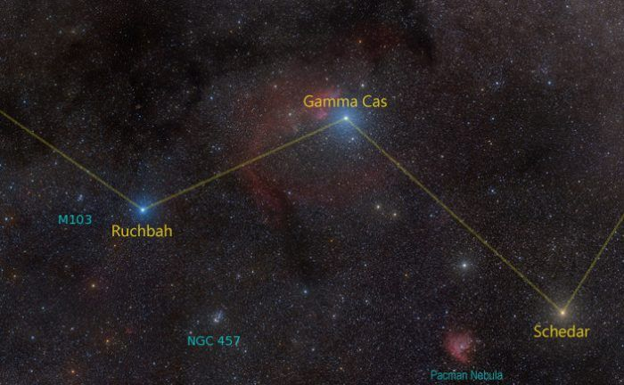 The Cassiopeia Constellation - Universe Today