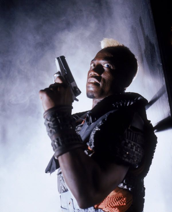 Demolition Man Simon Phoenix Wesley Snipes - love him and love the movie for the Brave New World references #huxley