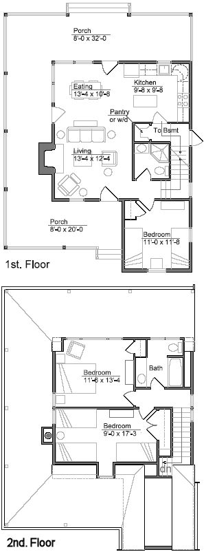 find this pin and more on small house plans - Little House Plans