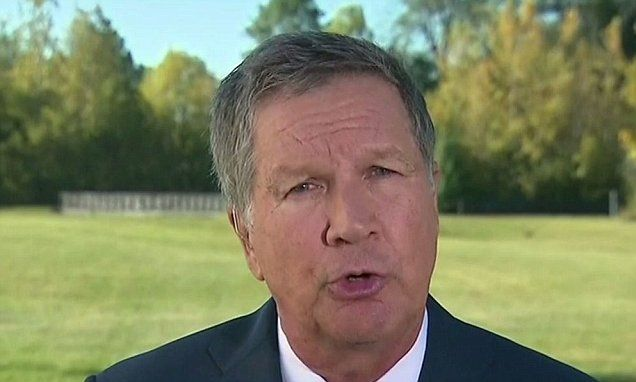 IT'S NOT GOING TO GET FIXED, JOHN, I PROMISE. Kasich threatens to leave the Republican Party