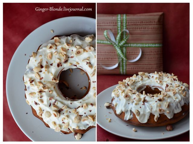 Рождественский кекс с финиками и сливочным кремом (via Bloglovin.com )