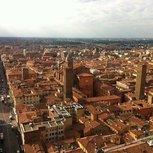 600 degraus conquistados! E a vista de Bolonha para recompensar - Instagram by @360meridianos