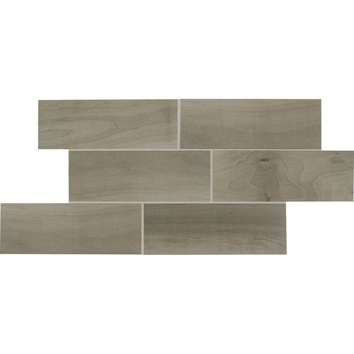 """This is what we picked out for the entire first floor! Gray Porcelain Wood-Look """"Emblem"""" #daltile"""