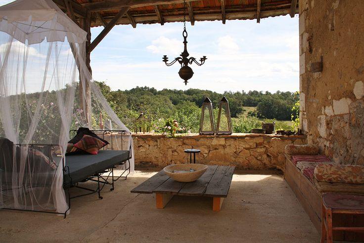 DORDOGNE - 'La Verte', Villars, - Chambres en table d'hôtes / 2 gites / safaritenten - gemeenschappelijk zwembad en prachtig, rustig domein.  getest en ruimschoots goedgekeurd = zeker nog eens gaan!