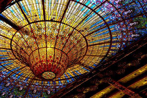 Palau de la Música Catalana. Sostre