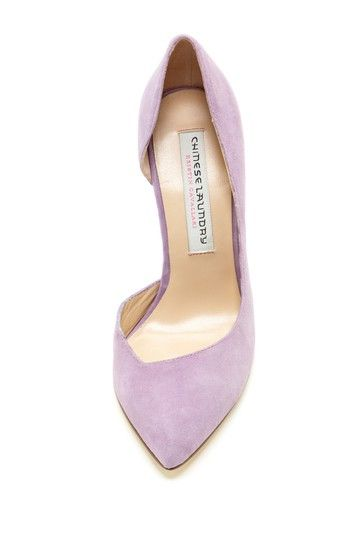 Lavender pumps - - love these! Only wish I could still wear high heels.