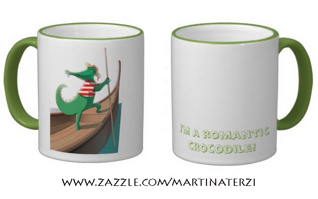 """""""Romantic cruise"""" mug on sale in my zazzle store! (Available also in other models and colors) www.zazzle.com/martinaterzi  check it out!"""